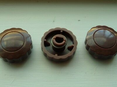 Awa Radio knobs  to suit early 1950's radios  reproduced
