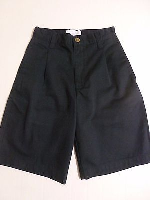 Boys School Uniform Shorts Sonoma Size 8 Reg Pleated Front Cotton