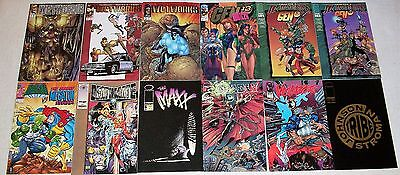 12 Issue Image Lot Wetworks Gen 13 Sam Keith J Scott Campbell Whilce Portacio