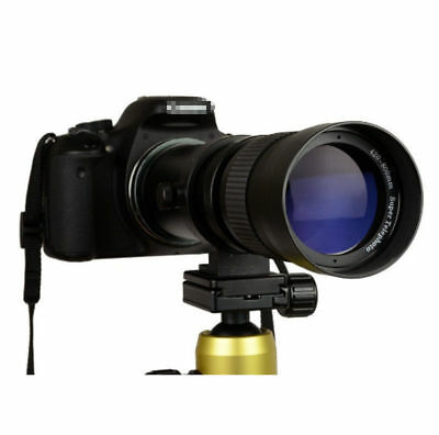 420-800mm f/8.3 - 16 Super Telephoto Zoom Camera Lens for Nikon Canon +T Mount A