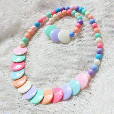 Children Set Candy Color New Cute Fashion Kids Necklaces&Bracelet Stylish Hot