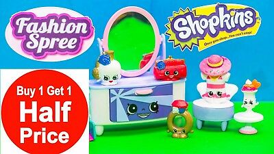 Buy 1 Get 1 50% Off (add 2 to cart) Shopkins Fashion Spree