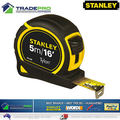 Stanley® Tape Measure PRO 5m Metric & Imperial Fatmax Tylon Quality 5Mtr 16'