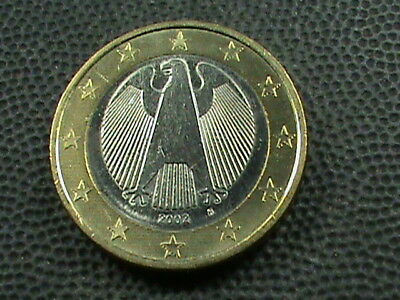 GERMANY    1  Euro    2002  -  F    UNCIRCULATED