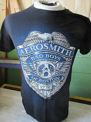 2014 Aerosmith Bad Boys of Boston Tour T-Shirt Size Small