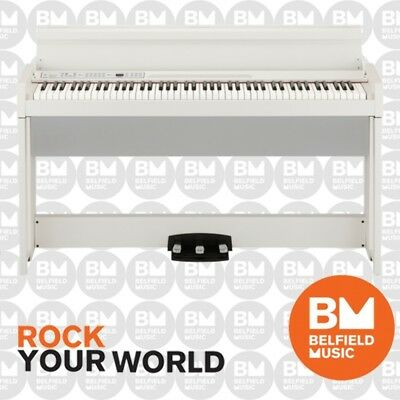 Korg C1 Air Digital Piano White 88 Keys Notes - Brand New - Belfield Music