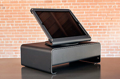 "Heckler Design Windfall Box Set Automatic Cash Drawer POS for iPad 9.7"" - Black"