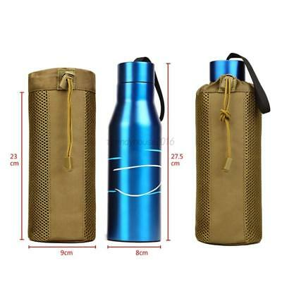 AU Military Tactical Water Bottle Bag Molle System Kettle Pouch Holder Case Bag