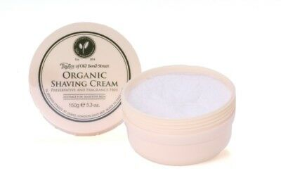 Rasiercreme Organic Shaving Cream, 150g - Taylor of Old Bond Street
