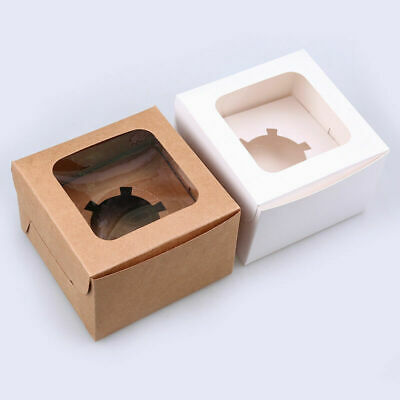 1/12 Hole Muffin Cupcake Cake Packing Box Case Wedding Party Container New