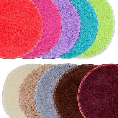 Round Non-slip Cushion Mat Soft Shoes Rug Memory Foam Bath Bathroom Floor Shower