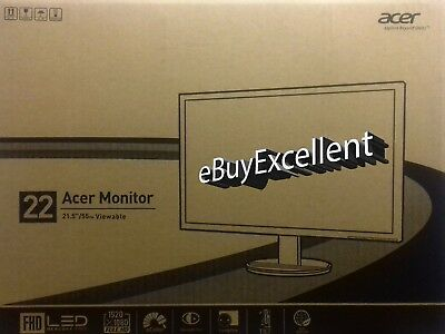 """Acer K222HQL 21.5""""  Widescreen LED LCD  FHD 1920x1080 Monitor UMWW3EE001 PC"""