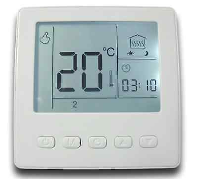 Heating, Cooling & Air 24V Low-Voltage Thermostat Touchscreen Room Thermostat #844