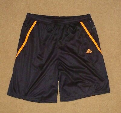 Adidas F50 Climacool 15 - 16 / Youth Shorts Black Orange Polyester Ex Shop Stock