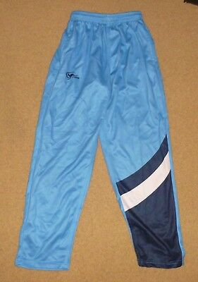 NEW CRICKET NSW Training Pants CLASSIC Blue Polyester