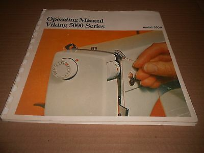 HUSQVARNA Sewing Machine Instruction Manual. User Guide. 5000 SERIES.