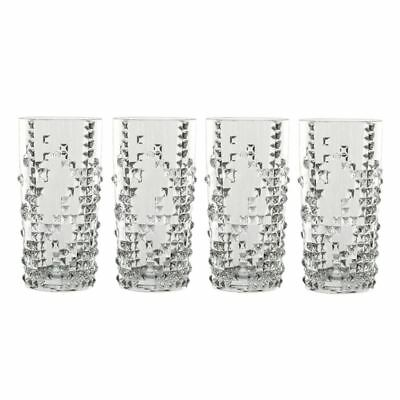 Nachtmann Crystal - Punk Long Drink 390ml Set of 4 (Made in Germany)