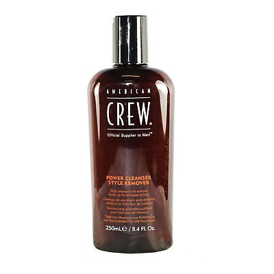 American Crew Men's Power Cleanser Shampoo Remove Gel Wax Build Up Daily Shampoo