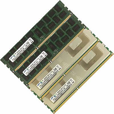 Memory Ram 4 Server DDR3 PC3 10600R 1333 240Pin RDIMM ECC Registered 2X GB Lot