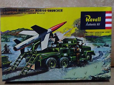 Vintage Revell  Lacrosse Missiles With Mobile Launcher Vehicle
