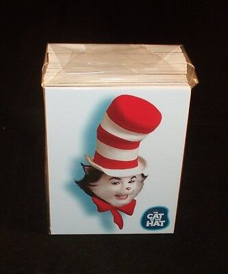 The CAT in the HAT  Complete Trading Card Set  Dr.Seuss Movie