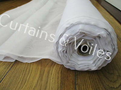 Voile Fabric , White, Cream, Sparkle, Muslin 150cm & 300cm wide Wedding craft