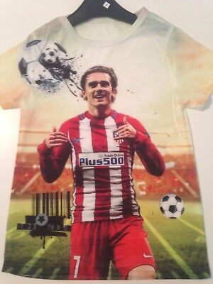 tee shirt foot athletico GRIEZMANN MAILLOT 2017/2018 neuf