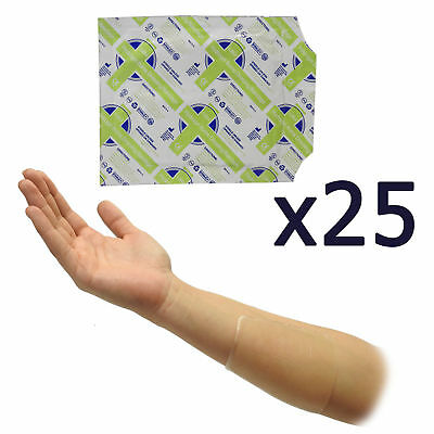 25x Quality Hydrogel Small Burn Scald Cooling Relief Sterile Dressings 10x10cm