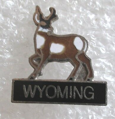 State of Wyoming Travel Souvenir Collector Pin