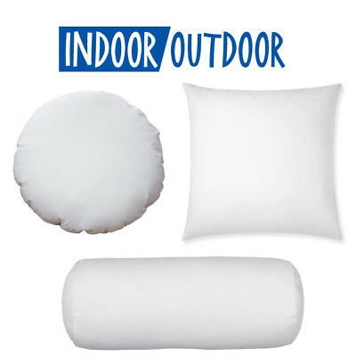 NEW ROUND EURO Pillow Form InsertALL SIZES Made In USA Pillow Stunning How To Cover A Round Pillow Form