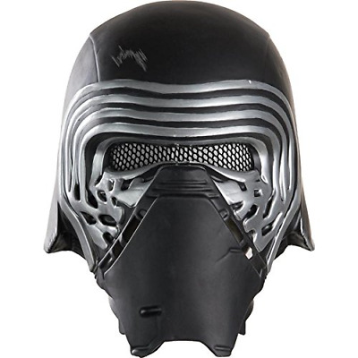 Star Wars Episode VII: The Force Awakens Adult Kylo Ren Half Helmet, Multi, One