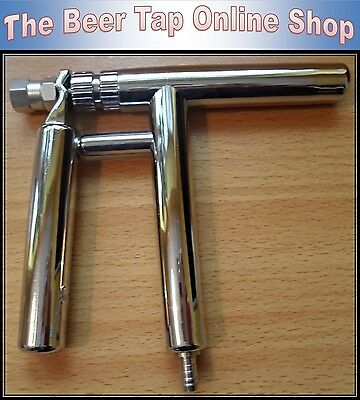 Beer Tap Pluto Gun Stainless / ABS Composite. Homebrew Party Tap Picnic Faucet .