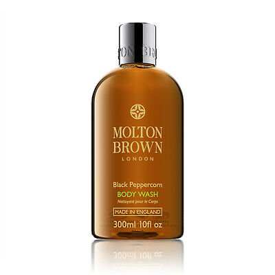 Molton Brown Black Peppercorn Body Wash 300ml Shower Gel FREE P&P