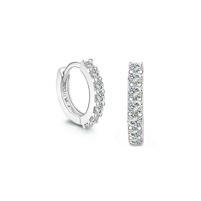 FANSING Jewelry 925 Sterling Silver Small Hoop Huggie Earrings for Womens and Gi