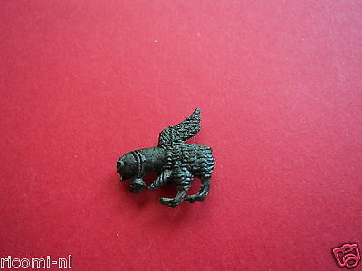 Extremely Rare Medieval Erotic Pilgrim Badge,Phallus With Wings