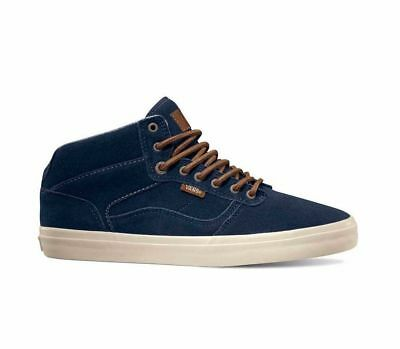 b1d1699a15 Vans Bedford Craft Dress Blues Antique Men s Classic Skate Shoes Size 7
