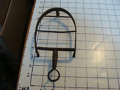 Original Vintage IRON TRIVET 1800'S or early 1900's HAND FORGED #34