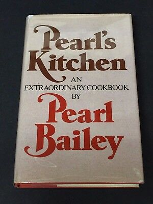 Pearl Bailey Pearl's Kitchen Fox And The Hound Signed Autograph Cookbook Book