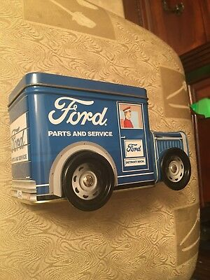 The Tin Box Company Ford Truck Can Metal