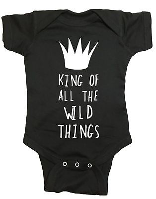 King Of All The Wild Things Where The Wild Things Are Baby One Piece