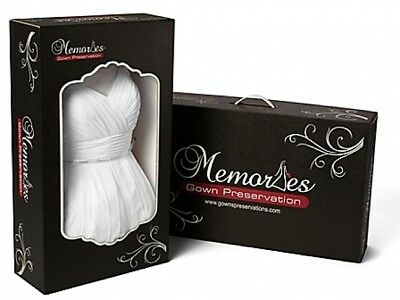 Wedding Gown Preservation Shipping Kit Lifetime Guaranteed Platinum Protection