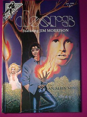 The DOORS ROCK FANTASY  Comic Book