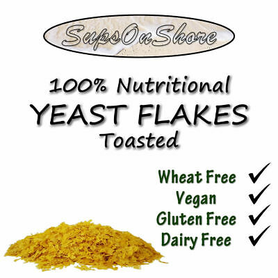 100% Premium Nutritional Toasted Yeast Flakes - 125g, 250g, 500g, 1KG & 2KG
