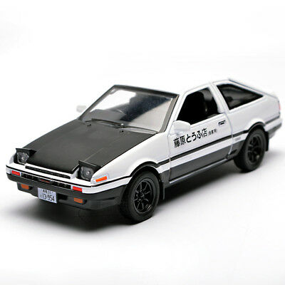 1:32 Kids Toys AE86 Metal Toy Cars Model With Light Sound Pull Back Car Gifts