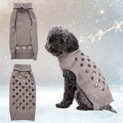 Pet Coat Dog Jacket Winter Clothes Puppy Cat Warm Sweater Clothing Coat Apparel