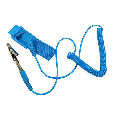 AL_ Grounding Anti Static ESD Wrist Strap Discharge Band Prevent Static Shock Ki