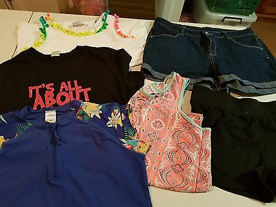 Girls Size 16 Summer Clothes, 6 items