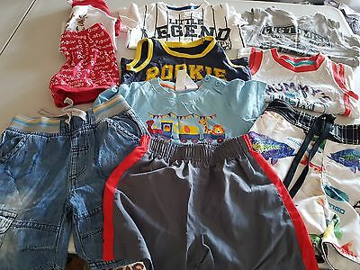 Boys Size 1 Summer Clothes, 10 items