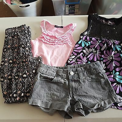 Girls Summer Clothes, Size 7, 4 pieces