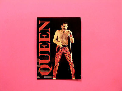 Queen/freddie Mercury Official Vintage Postcard Uk Import